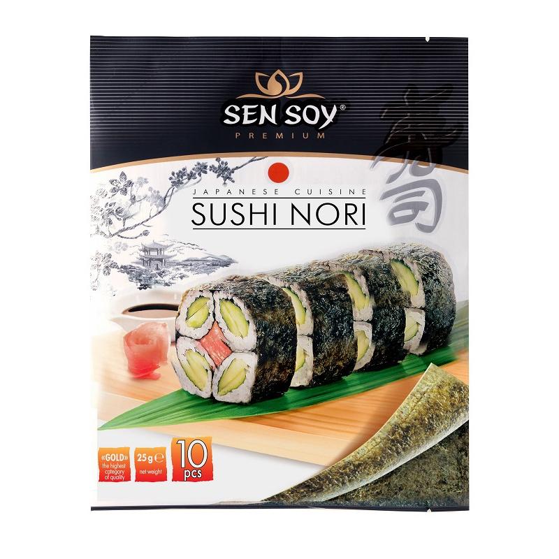 Arkusze **Sushi Nori** 10szt*SEN SOY*