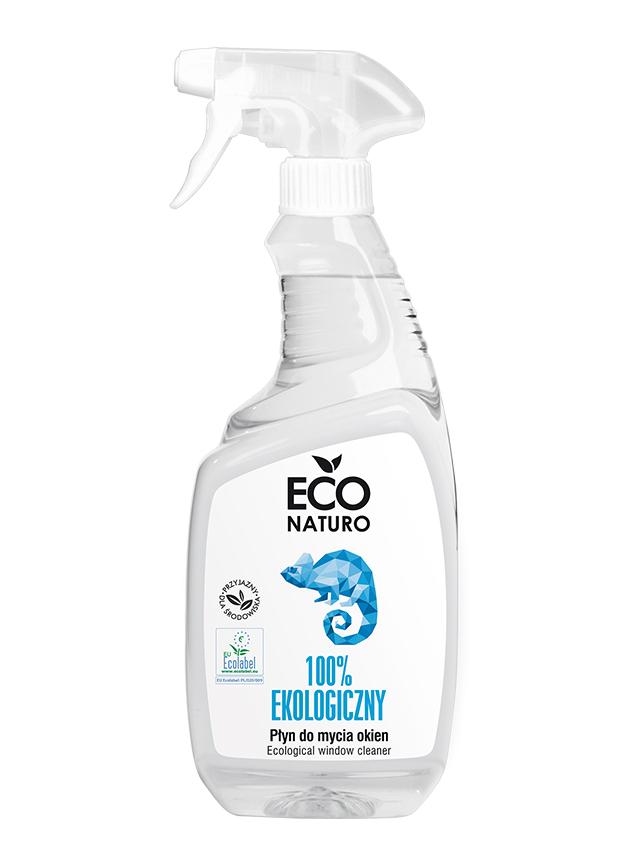 Płyn do mycia szyb spray 750ml*ECO NATURO*BIO