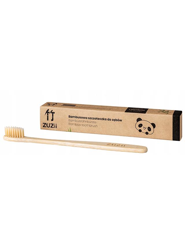 Szczoteczka bambusowa do zębów dla dorosłych *ZUZII BAMBOO*