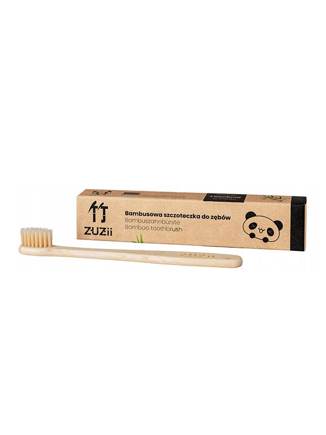 Szczoteczka bambusowa do zębów dla dzieci *ZUZII BAMBOO*