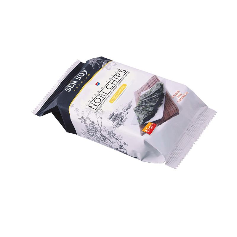 Chipsy **Nori chips** oryginalne 4,5g*SEN SOY*