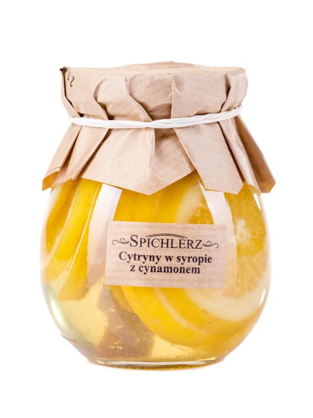 Cytryny w syropie z cynamonem 290g*SPICHLERZ*