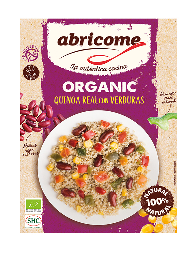 Danie gotowe **Quinoa con Verduras / Quinoa Warzywna** wegańskie 250g*ABRICOME*BIO TERMIN: 31.01.2021