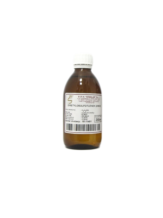Dimetylosulfotlenek **DMSO** 250ml*STANLAB*
