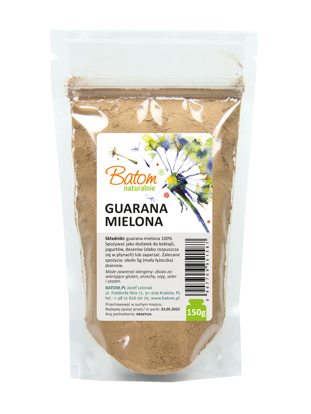 Guarana mielona 150g*BATOM* TERMIN: 31.10.2020