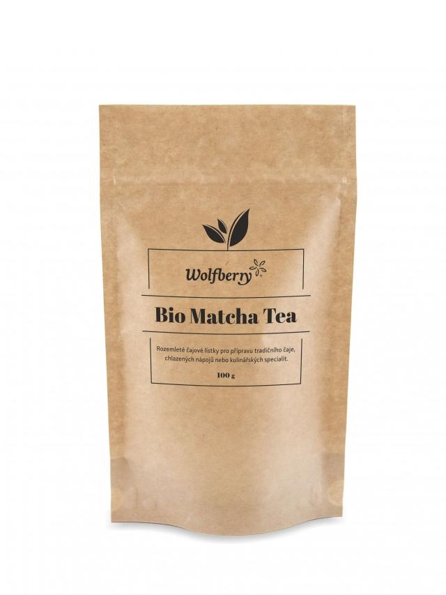 Herbata zielona matcha 100g*WOLFBERRY*BIO