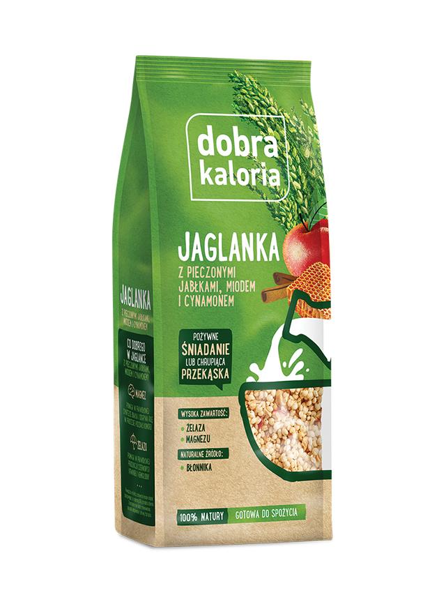 Jaglanka / pieczone jabłko / miód / cynamon 120g*DOBRA KALORIA*