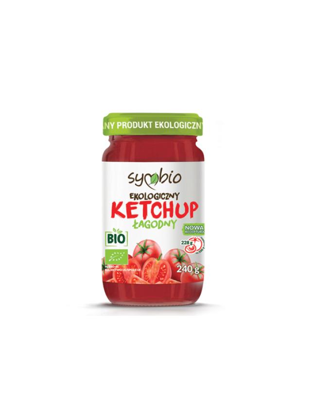 Ketchup  pomidorowy łagodny 240g*SYMBIO*BIO