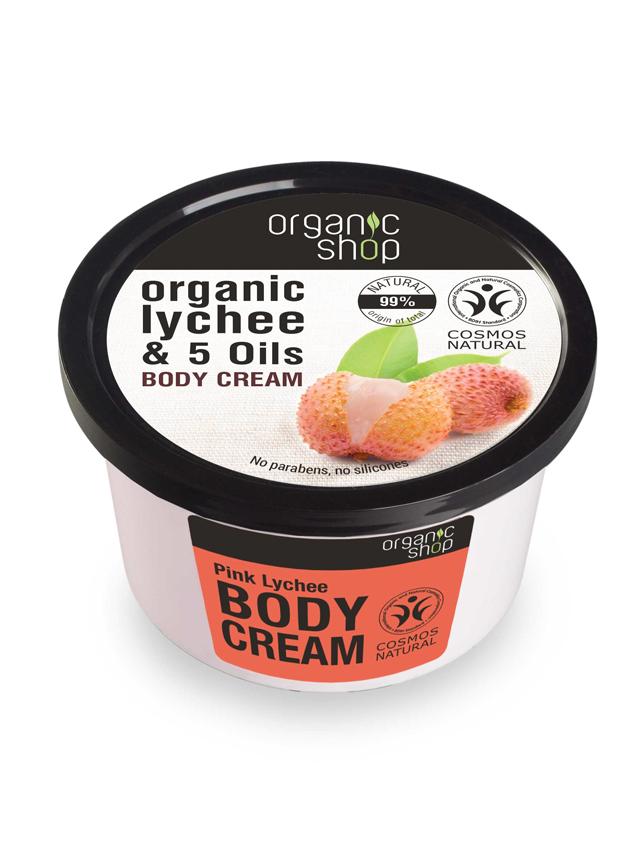 Krem / balsam do ciała **Organic Lychee & 5 Oils** 250m*ORGANIC SHOP*ECO