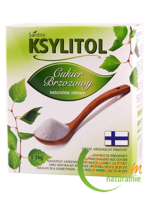 Ksylitol 1kg*SANTINI* TERMIN: 08.08.2023