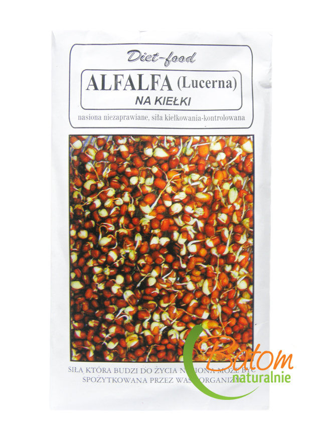Lucerna nasiona 80g*DIET- FOOD*