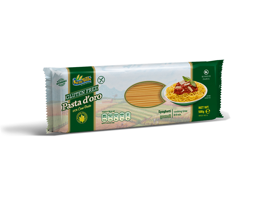 Makaron kukurydziany bezglutenowy spaghetti 500g*SAMMILLS*