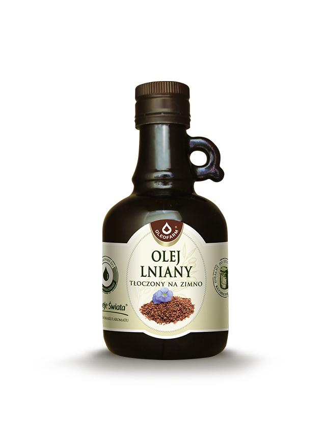 Olej lniany 250ml*OLEOFARM*