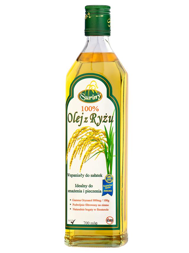 Olej z ryżu (ryżowy) 700ml*SURINY* - opakowanie zbiorcze po 12 szt.