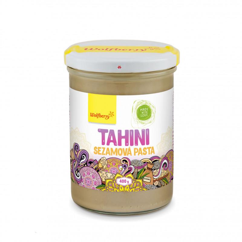 Pasta **Tahina** sezamowa 400g*WOLFBERRY*