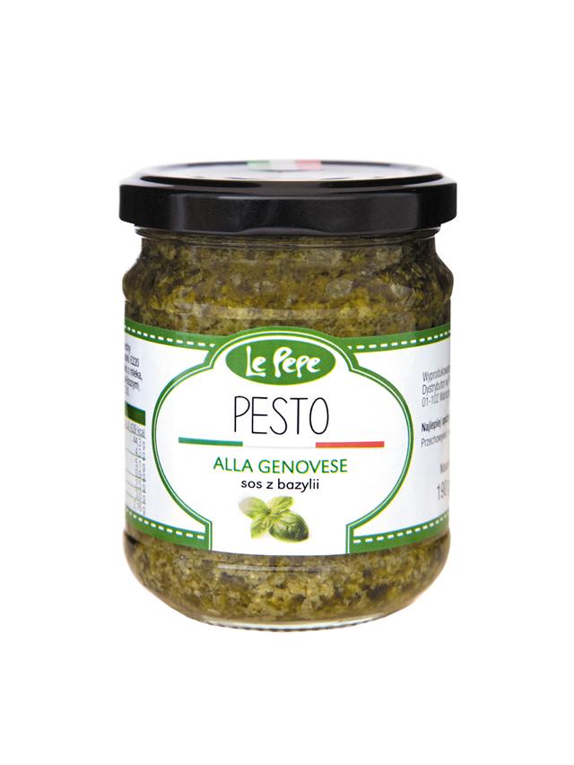 Pesto zielone 190g*LE PEPE*