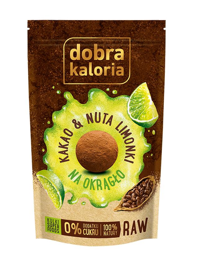 Przekąska **Na Okrągło** kakao / nuta limonki 65g*DOBRA KALORIA*