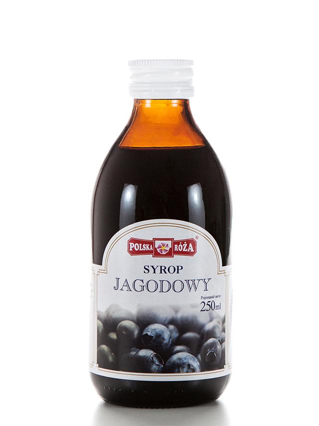 Syrop jagodowy 250ml*POLSKA RÓŻA* TERMIN: 31.08.2021