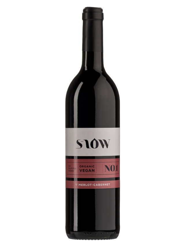 Wino bez siarczynów czerwone / gronowe / Francja 750ml*MERLOT-CABERNET SLOW*BIO