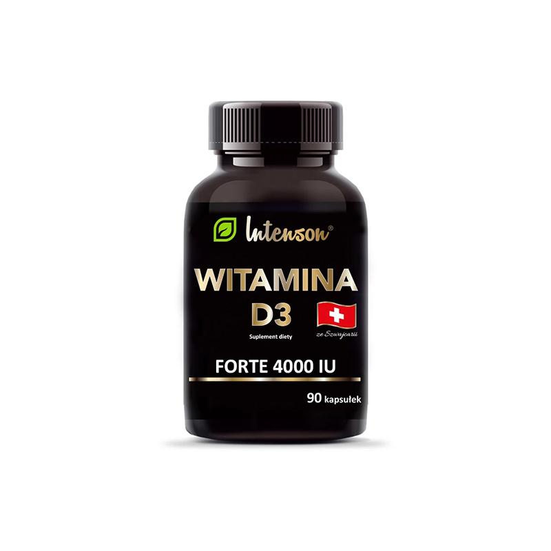 Witamina D3 4000 IU tabletki 90szt*INTENSON*