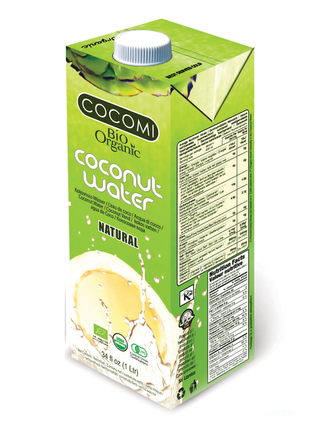 Woda kokosowa naturalna 1l*COCOMI*BIO