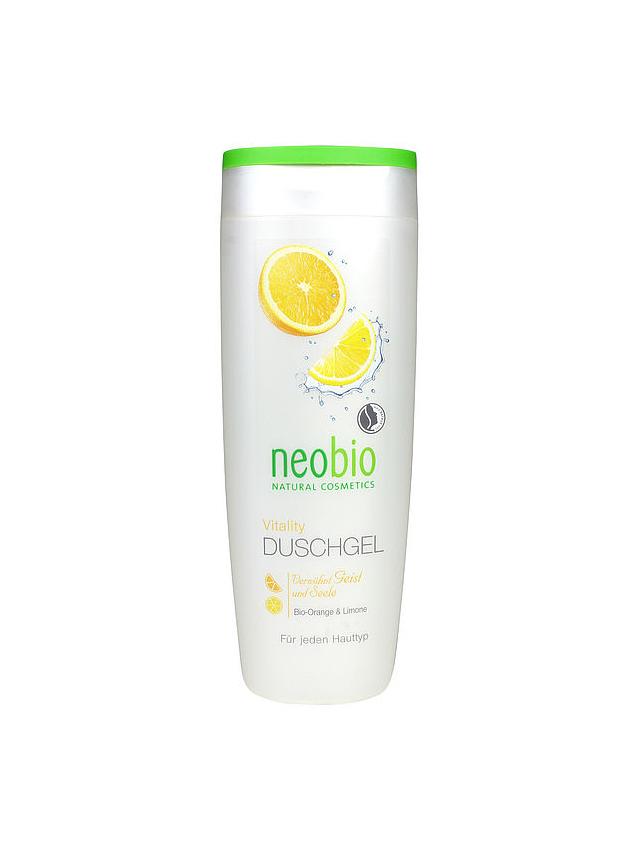Żel pod prysznic pomarańcza / cytryna 250ml*NEOBIO*