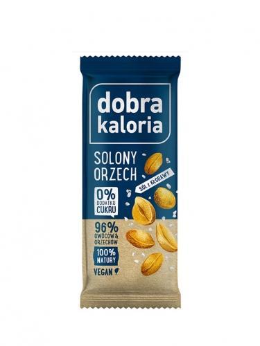 Baton owocowy solony orzech 35g*DOBRA KALORIA* - opakowanie zbiorcze po 20 szt.