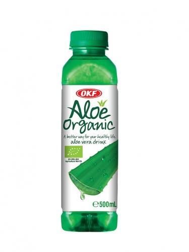 Napój aloesowy Aloe organic 500ml *OKF* BIO TERMIN: 19.08.2021