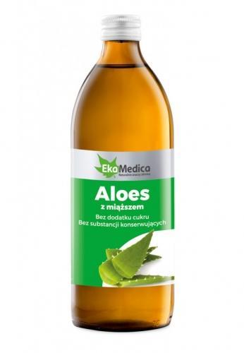 Aloes sok z miąższem 500ml*EKAMEDICA*