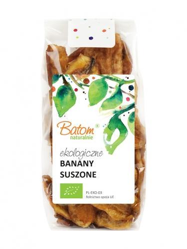 Banany suszone plastry 125g*BATOM*BIO