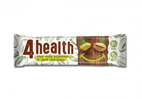 Baton orzechowy / pistacje / gorzka czekolada 30g*4HEALTH*