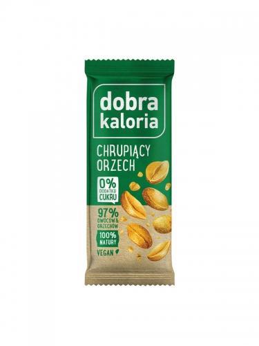 Baton owocowy chrupiący orzech 35g*DOBRA KALORIA* - opakowanie zbiorcze po 20 szt.
