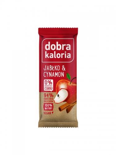 Baton owocowy jabłko / cynamon 35g*DOBRA KALORIA* - opakowanie zbiorcze po 20 szt.