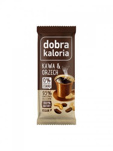 Baton owocowy kawa / orzech 35g*DOBRA KALORIA* - opakowanie zbiorcze po 20 szt.