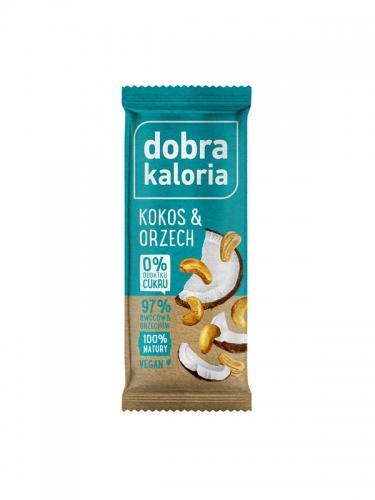 Baton owocowy kokos / orzech 35g*DOBRA KALORIA* - opakowanie zbiorcze po 20 szt.