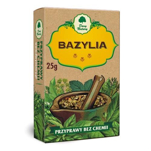 Bazylia 25g*DARY NATURY* - opakowanie zbiorcze po 10 szt.