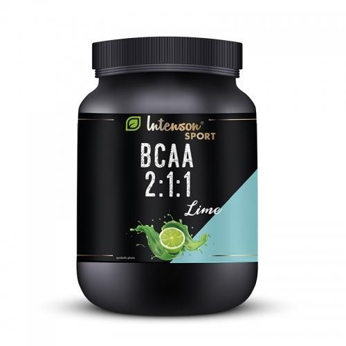Aminokwasy BCAA proszek instant limonka 600g*INTENSON SPORT*