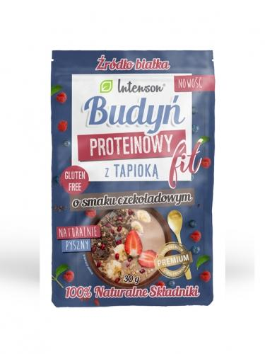 Budyń **Proteinowy Fit** czekoladowy z tapioką 30g*INTENSON*