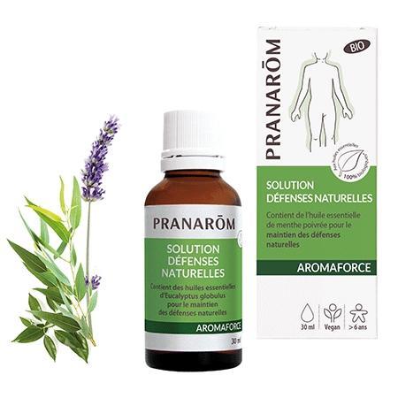 Mieszanka olejków **Aromaforce / Naturalna ochrona** na odporność 30ml*PRANARÔM*BIO
