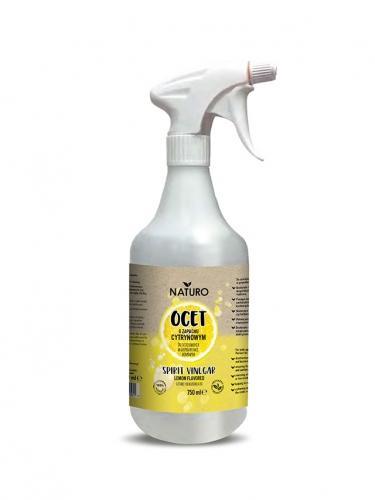 Ocet spirytusowy do czyszczenia spray 750ml*NATURO*