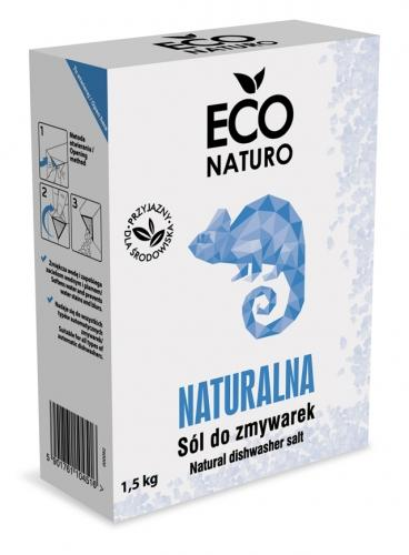 Sól do zmywarek 1,5kg*ECO NATURO*BIO