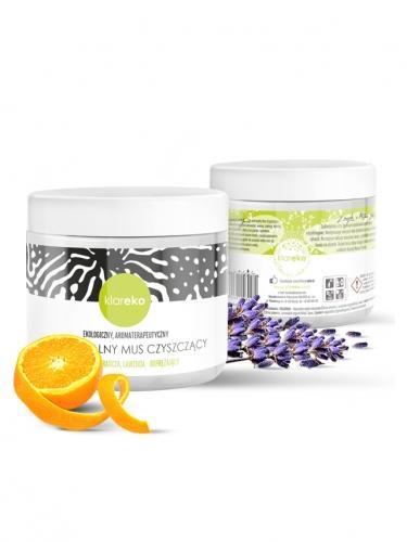 Mus czyszczący słodka pomarańcza / lawenda 550g*KLAREKO*