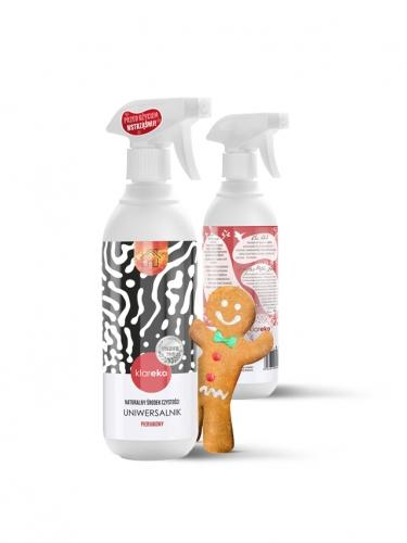 Płyn **Uniwersalnik** czyszczący zapach piernikowy spray 500ml*KLAREKO*