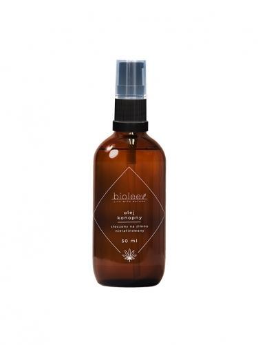 Olej konopny kosmetyczny 50ml*BIOLEEV*  - zużyć do 31.10.2020