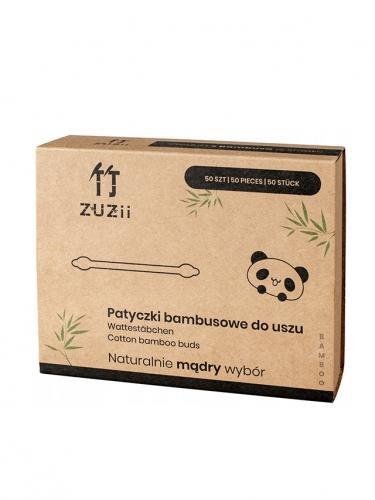 Patyczki bambusowe do uszu duże 50szt*ZUZII BAMBOO*