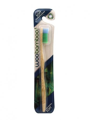 Szczoteczka bambusowa **Soft** do zębów dla dorosłych 1szt*WOOBAMBOO*