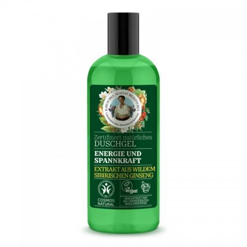 Żel pod prysznic dodaje energii / odświeża 260ml*AGAFIA*ECO
