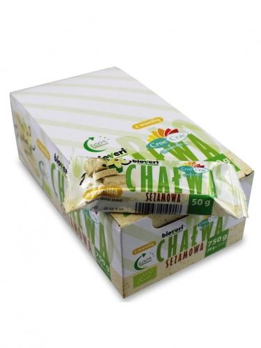 Chałwa sezamowa z wanilią 50g*CROC-CRAC*BIO