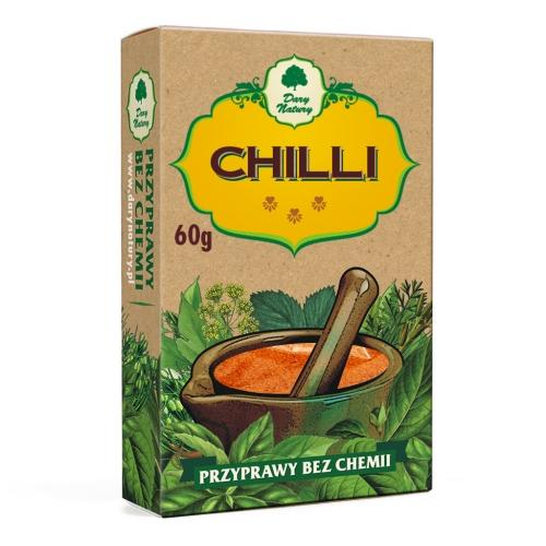 Chilli 60g*DARY NATURY* - opakowanie zbiorcze po 10 szt.