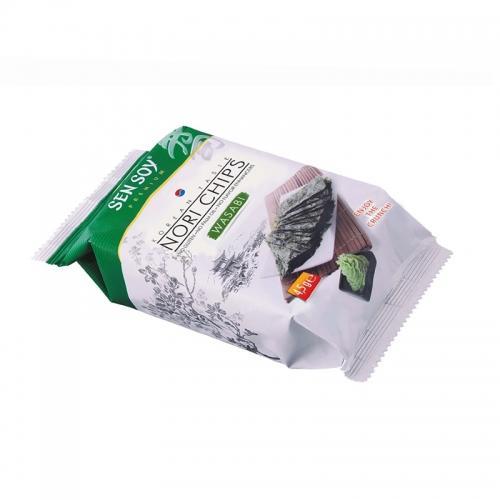 Chipsy **Nori chips** z wasabi 4,5g*SEN SOY*